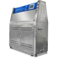 Light UV Accelerated Aging test Chamber Nichrome Heating System Environmental