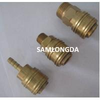 Buy cheap Europe type quick coupler, air hose coupler, one touch coupling,Brass socket,brass material with high pressure 15bar product