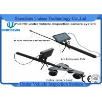 Buy cheap Multiple Language 7 Inch Under Vehicle Inspection Camera Dvr System With Waterproof product
