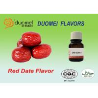 Buy cheap Small Red Date Food Flavouring Agents , Jelly Synthetic Flavours product