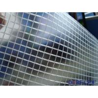 Buy quality PVC Transparent Fabric Polyester Trapaulin at wholesale prices