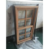 Buy cheap Powder Coating / Wooden Grain Aluminium Window Profiles GB / T6892-2006 from wholesalers