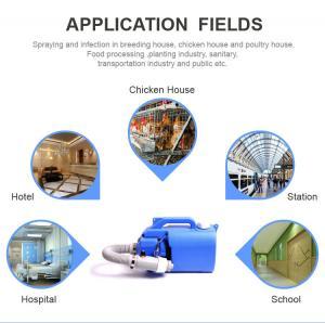 Buy cheap Hospital Disinfectant Sprayer machine fogger machine sprayer disinfection machine product