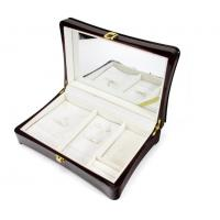 Buy cheap Luxury Wood Gift Box Packaging / Wooden Jewelry Case In Glossy Finish product