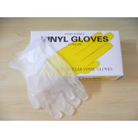 Buy quality Latex disposable gloves for examination with powder / Food Grade Vinyl Gloves at wholesale prices