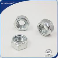Buy cheap Professional M6-M33 Galvanized Hex Lock Nut , Din 980 Nut Natural Color product