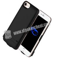 Buy cheap 4.7 Inch iPhone 6 / 7 / 8 Power Case Poker Scanner With IR Camera Inside To Scan Marked Playing Cards from wholesalers