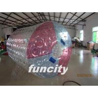 Buy quality 1.0MM TPU Material Inflatable Water Roller for Commercial Use Playing in the Lake at wholesale prices