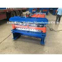 Buy cheap 27-200-1000 Model Quality Roofing Sheet Roll Forming Machine With Plc Control from wholesalers