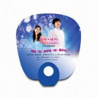 Buy cheap Hand Fan for Promotional Purposes, Made of PP, Customer's Logo Printings are Available product