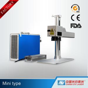 Buy cheap Mini Type Portable Fiber Laser Marking Machine 10W 20W 30W 50W with FDA product