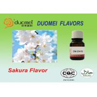 Buy cheap Liquid Soft Drink Flavours Bright Fruity Sakura Flavor For Drinking product