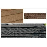 China ECO Classic Aluminum / Zinc Colorful Stone Coated Metal Roof Tiles for building mansion on sale
