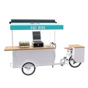 Buy cheap Environment Friendly Durable Burger Food Cart 150KG Load Capacity product