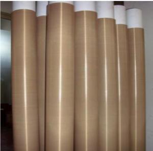 Buy cheap High Temperature PTFE Coated Fiberglass Fabric With Teflon Fiberglass Coated product