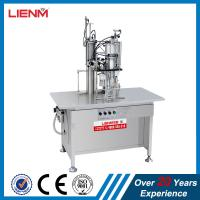 Buy cheap 3 in 1 Semi-auto Snow Spray Air Freshener Body Spray Filling Machine Packing Line product