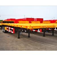 Buy cheap 3 axles China flat bed trailer, 40FT China Container Trailer, China flatbed trailer from wholesalers