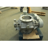 Buy cheap Food Industry Self Cleaning DN50 Rotary Valve With Motor Reducer product