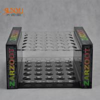 Buy cheap 2 Tiers Perspex Display Shelves Nail Polish Stand RackPMMA Crazy Logo Printed product