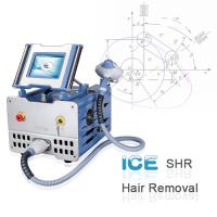 Buy quality High Efficiency 2500W SHR Permanent 808nm IPL Hair Removal Machines ICE1 at wholesale prices