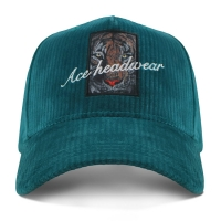 Buy cheap Corduroy 5 Panel Baseball Cap With Self Strap Sublimation Patch product