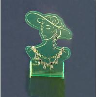 Buy cheap Jewelry Display Stands Acrylic Earring Holder Torque Laser Cutting product