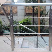 Buy cheap Best Quality s.s Solid Rod Bar Railing Price / Balcony Stainless Steel Rod Bar Railing Design product