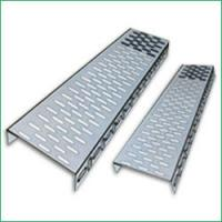 China Fiber Reinforced Plastics GRP Perforated Cable Tray with Electro zinc plated for indoor on sale