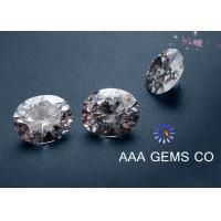 Necklaces 5mm AAA GEMS Sythetic Stones Colorless Moissanite With Round Shape Diamone Manufactures
