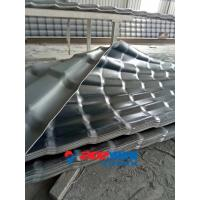 Buy cheap PVC Corrugated Roof Tile Roll Forming Machine , PVC Plastic Sheet Extrusion Machine product