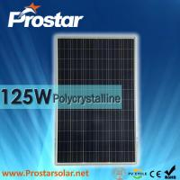 Buy cheap Prostar polycrystalline solar panel 125W for solar generator product