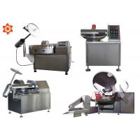 Buy cheap Commercial Vacuum Small Meat Bowl Cutter Electrical Sausage Bowl Cutter product