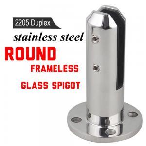 Buy cheap Super Quality Porch Frameless Glass Railing Spigot For Balustrade product