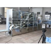 Buy cheap Bed Sheet Non Woven Folding Machine 8.5KW 20-30 M/Min With Silvery White product