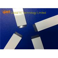 OEM / ODM 8 Pin Flat Ribbon Cable With Supporting Tape For Fax Machine / Copier