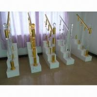 Buy cheap Indoor Acrylic Stair Handrails, Durable and Beautiful product