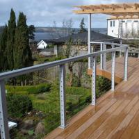 Buy cheap Modern outdoor deck Railing design Stainless Steel Handrail Wire Balustrade cable railing product