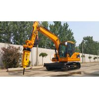Buy cheap 8Ton DOOSAN Pump Yanmar Engine EPA/ CE Approved Hydraulic Rubber Track Excavator from wholesalers