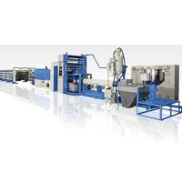 Quality 350kg/H PP Flat Yarn Extrusion Line , PP Woven Bag Making Machine High Speed for sale