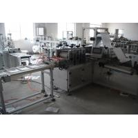 Buy cheap 5KW Wet Disposable Glove Machine Nonwoven Disposable Rectangular White Color product