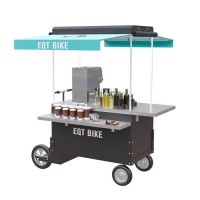 Buy cheap Stainless Steel 1.5kw Mobile Snack Bike Vending Cart product