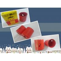 Buy cheap Red Color 40mm M42 Bimetal Hole Saw For Cutting Wood,Plastic,Metal product