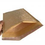Buy cheap Durable Browm Kraft Bubble Mailers Padded Envelopes Hot Melt Adhesive Glue product