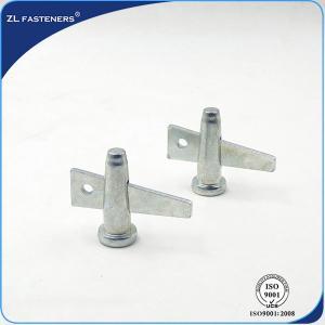 Buy cheap Formwork Locking Wedge Scaffolding Pin White Zinc / Yellow Zinc Finish product