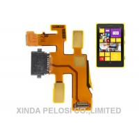 Buy cheap High Compatible Nokia Spare Parts Cell Phone Flex Cable Replacement Metal Material product