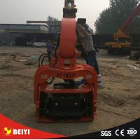 Buy cheap excavator Hydraulic wet land, soft land excavator pile driver , pile extractor, steel pipe pile machine from wholesalers