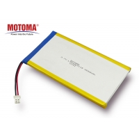 Buy cheap Lithium Polymer Mobile Watch Battery High Voltage 4650mah 500 cycles product