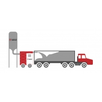 Buy cheap ISO 9001 40FT SS316 Container Bulk Loading System product