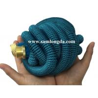Buy cheap 2017 Expandable Garden hose,50FT strongest garden hose with brass quick coupling, green color expanding water hose product