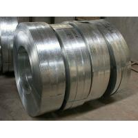 Regular Spangle Hot Dipped Galvanized Steel Strip , Galvanized Metal Strips For Profiles Manufactures